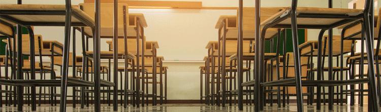 Asbestos in schools old classrom