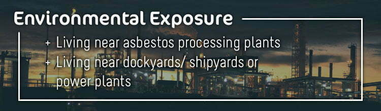 Risk Factors for Developing Mesothelioma - Environmental Exposure to Asbestos