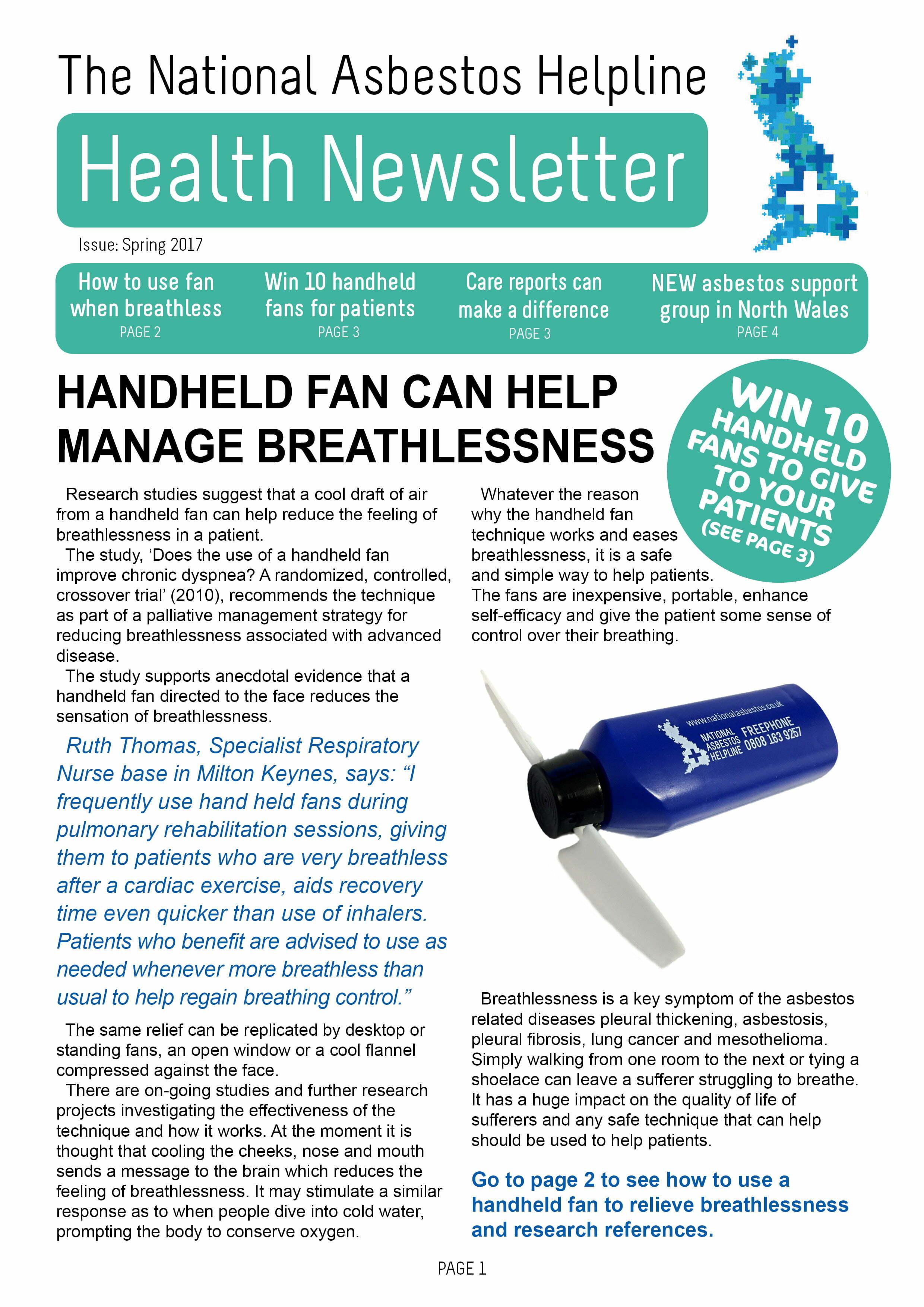 Asbestos Health Newsletter