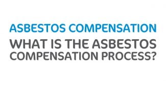 What is the asbestos compensation claims process