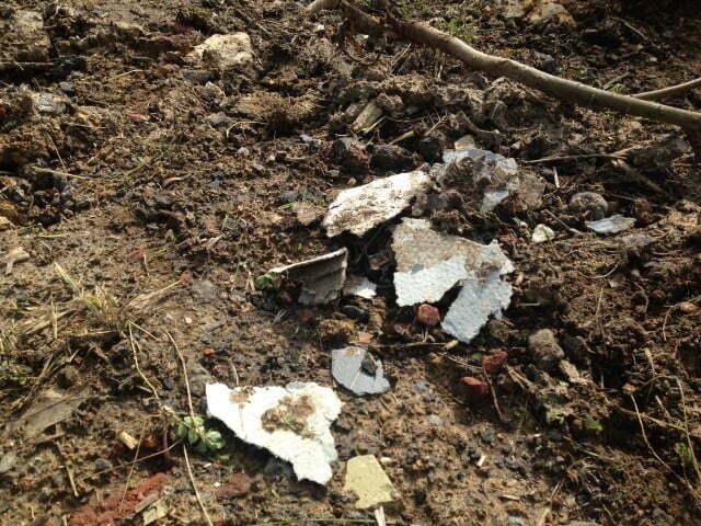 asbestos on brownfield sites
