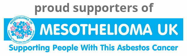 We are proud to support Mesothelioma UK